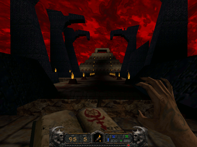 Screenshot of Fortress of Four Doors