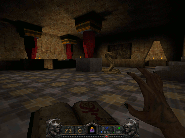 Screenshot of Temple of Chaos